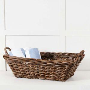 Basket Rect. Kubu Grey