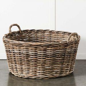 Kubu Wood Basket