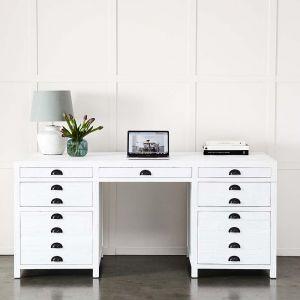 Henri Desk White