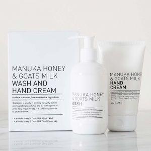 Manuka Honey & Goats Milk Gift Pack