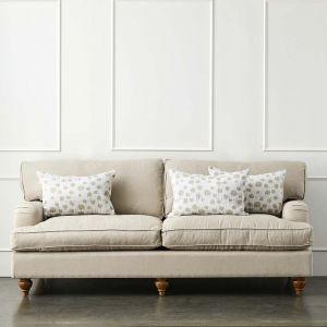 Camille Linen Sofa