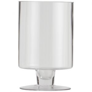 St Piere Footed Hurricane Candleholder
