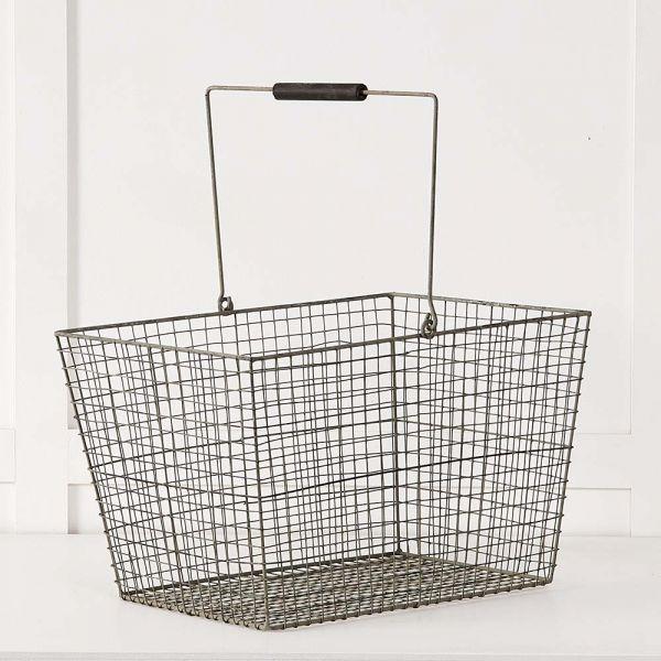 Wire Shopper Basket