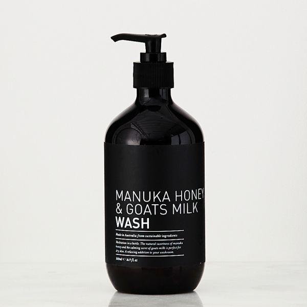 Manuka Honey & Goats Milk Wash