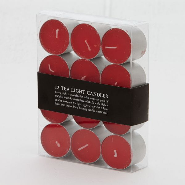 Siena Tealight Candles 12pk