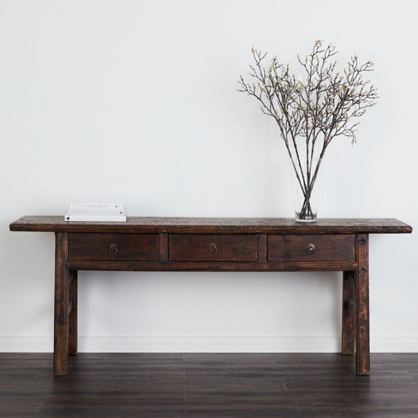 Albany Antique Console Table