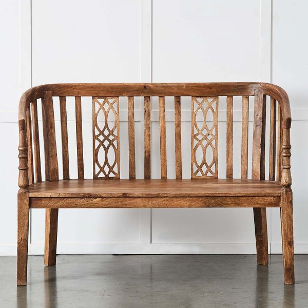 Tamil Wooden Bench