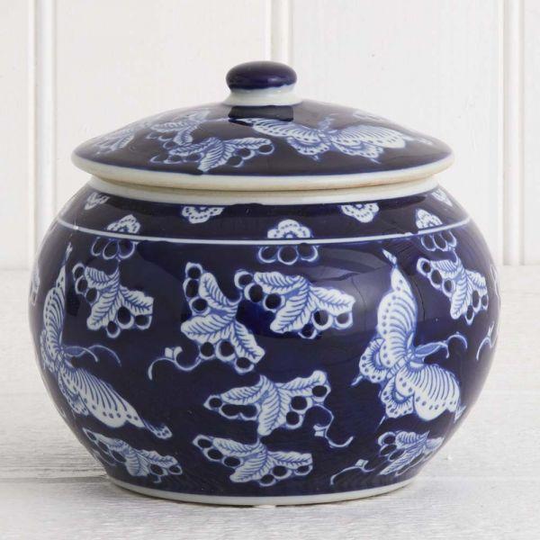 Dynasty Butterfly  Jar