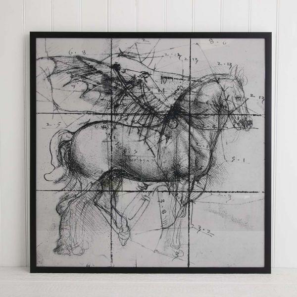 Pegasus Print 112x112