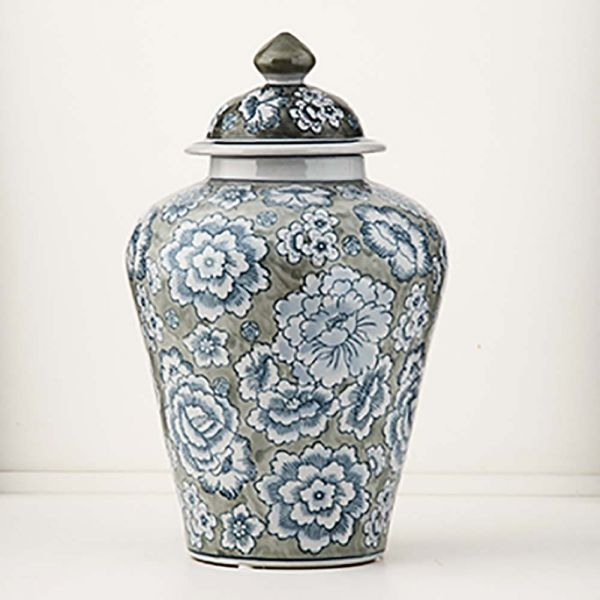 Dynasty Floral Urn