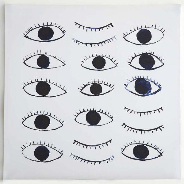 Eyes Canvas 80x80