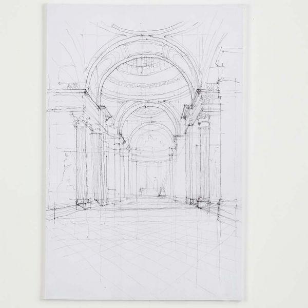 Pantheon Canvas 120x180