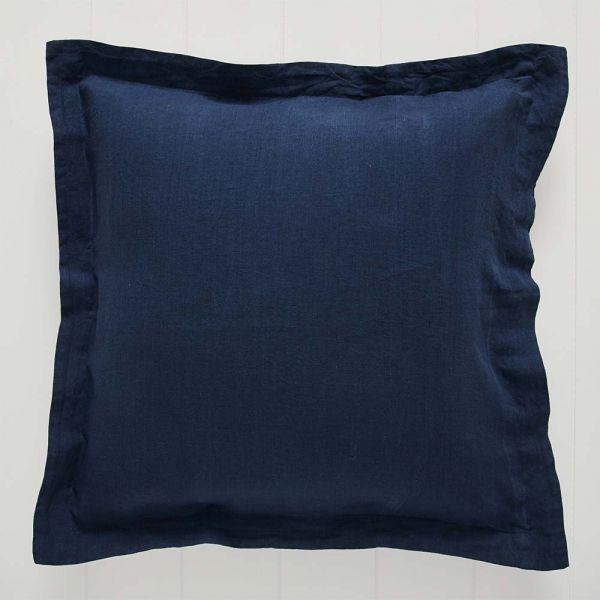 Antwerp Linen Euro Pillowcase Navy