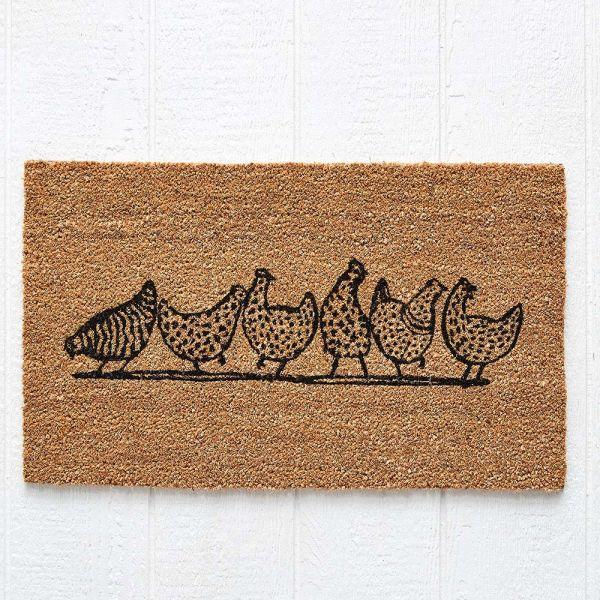 Chickens Doormat 75x45