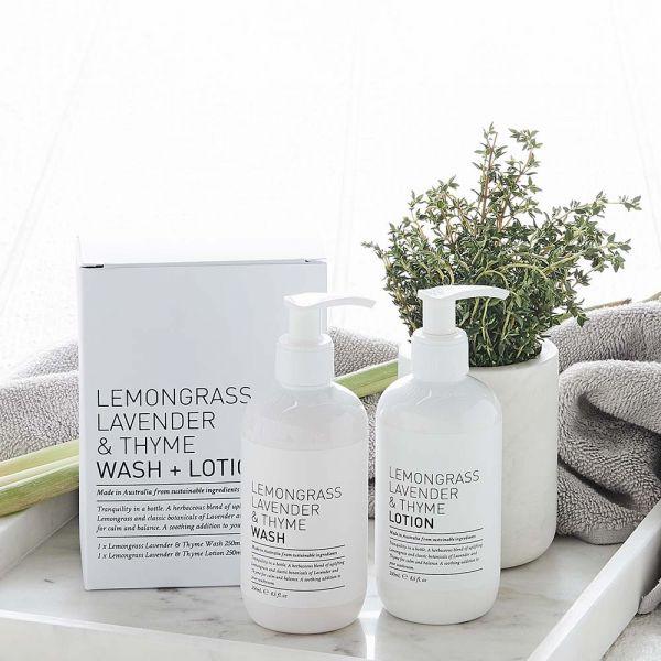 Lemongrass Lavender Thyme Gift Pack