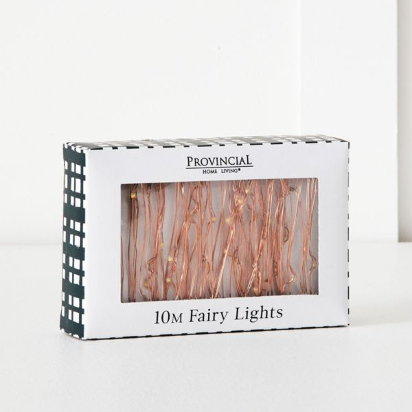 Tinsel Fairy Lights 10m