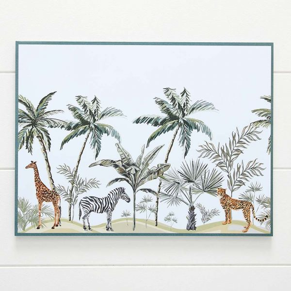 Harper African Animals Placemat Pack