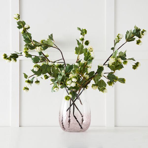 Paros Tall Vase - Peony