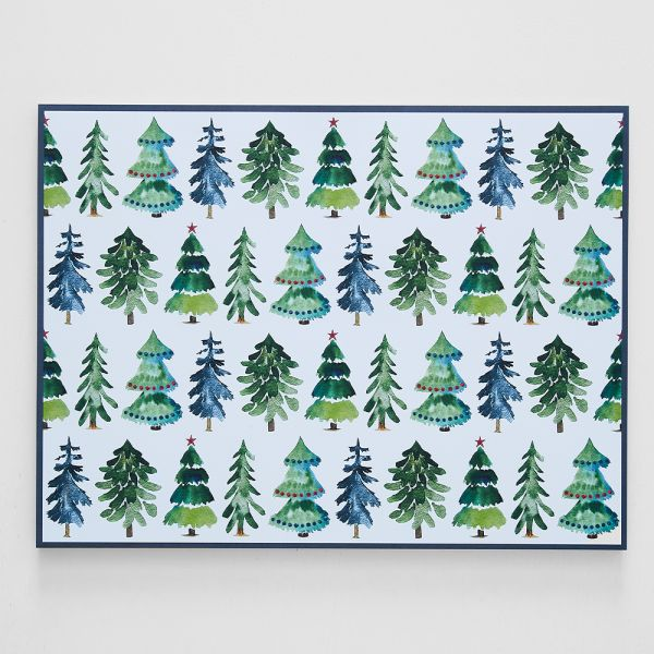 Jolly Classic Tree Placemat Pack