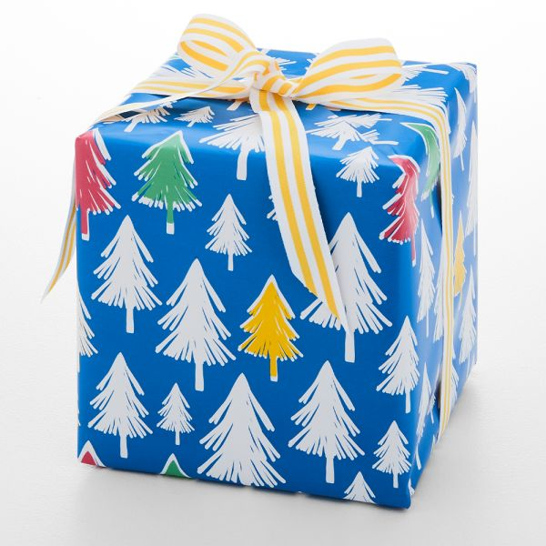 Jolly Fiesta Tree Wrapping Paper - 5m