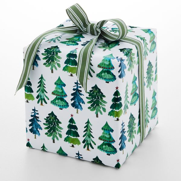 Jolly Classic Tree Wrapping Paper - 5m
