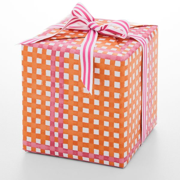 Jolly Fiesta Plaid Wrapping Paper - 5m