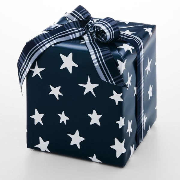 Jolly Night Star Wrapping Paper - 5m