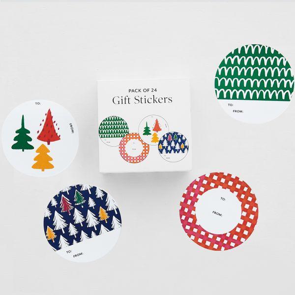 Jolly Fiesta Gift Sticker Pack