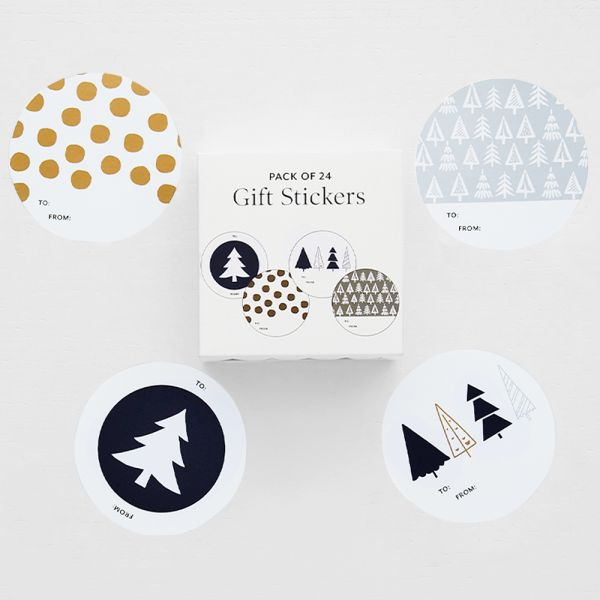 Jolly Night Sky Gift Sticker Pack