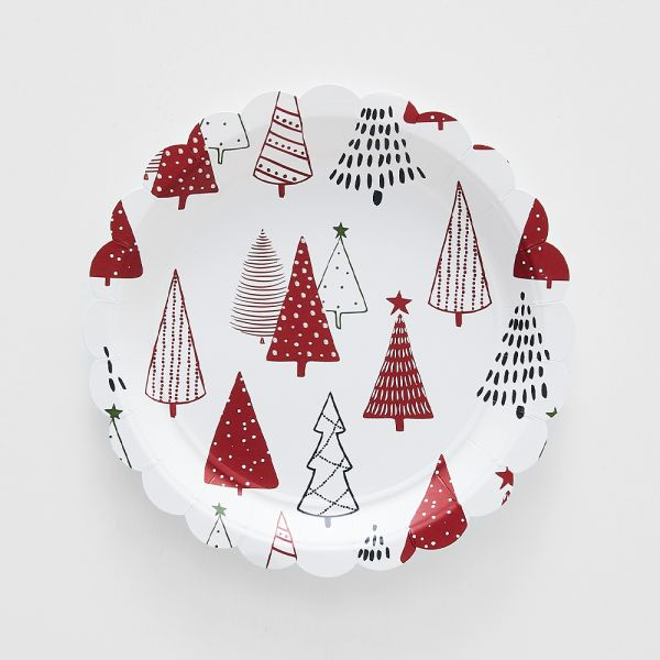 Jolly Classic Paper Plate Pack