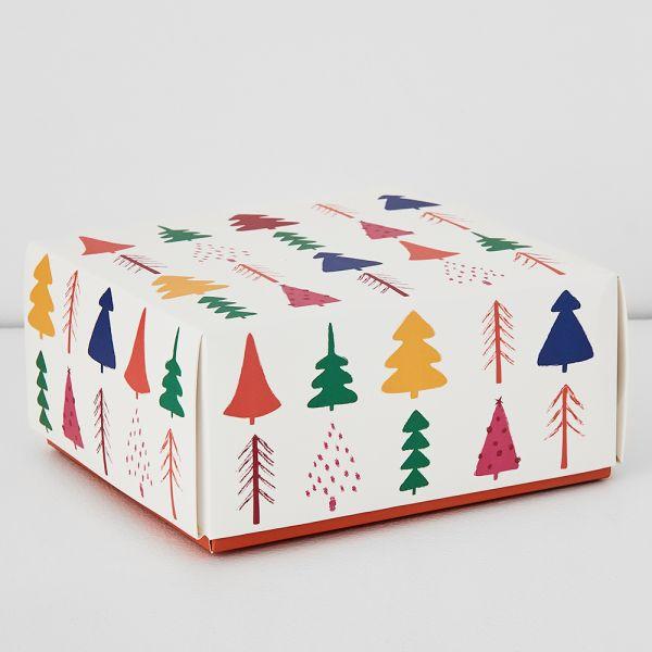 Jolly Fiesta Trees Gift Box