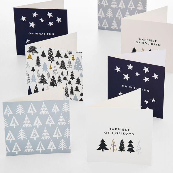 Jolly Night Sky Greeting Card Pack