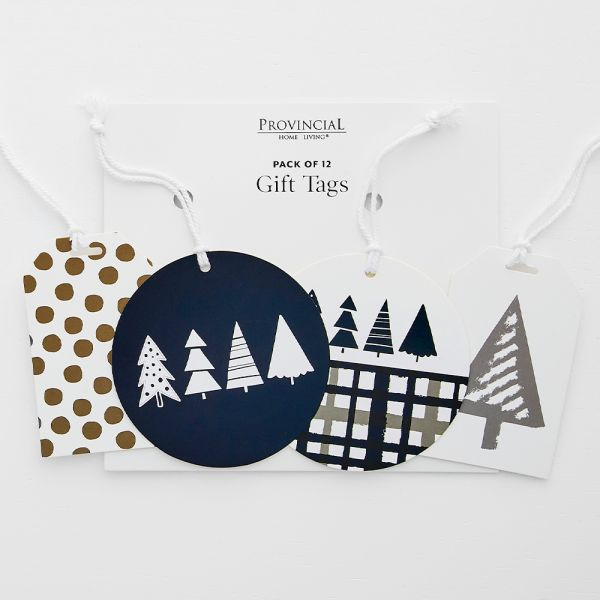 Jolly Night Sky Gift Tag Pack