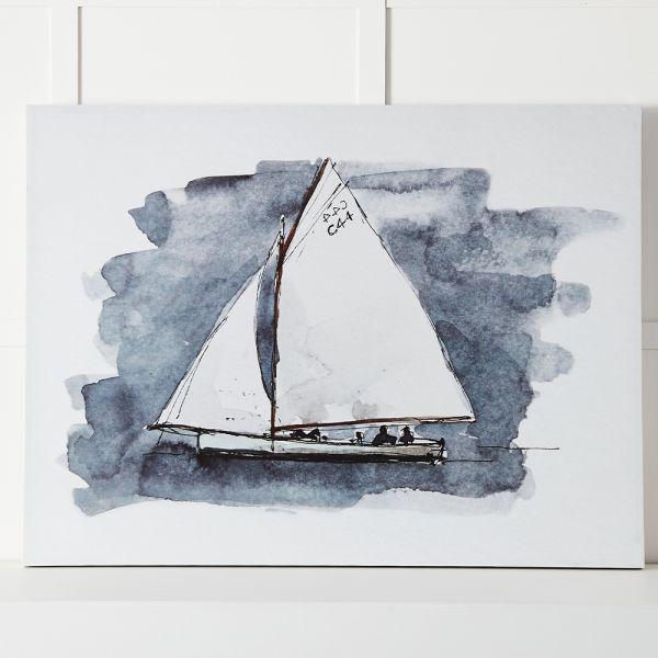 Sailing Canvas 120x90