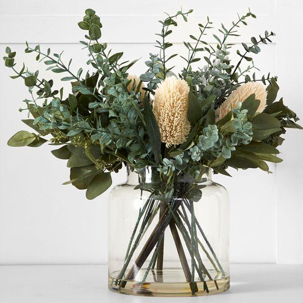 Protea Eucalypt Potted Flower L