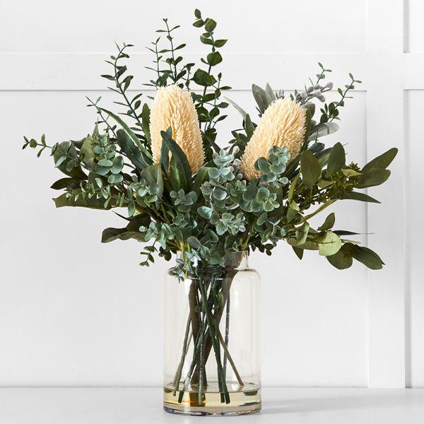 Protea Eucalypt Potted Flower M