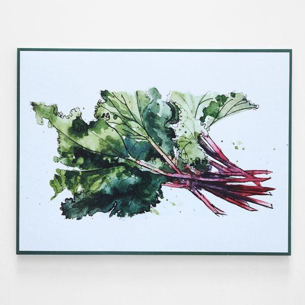 Harper Rhubarb Placemat