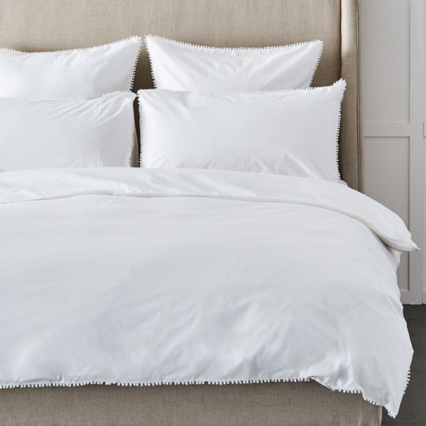 Kent Quilt Cover - White
